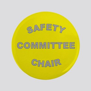 High-Visibility Yellow Chairperson Button