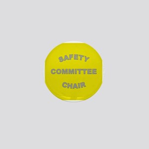 High-Visibility Yellow Chairperson Mini Button