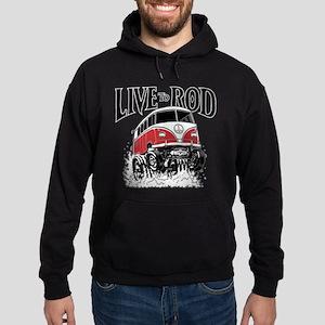 LIVE TO ROD 1964 Microbus Hoodie