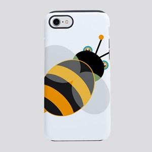 Animated Bee iPhone 8/7 Tough Case