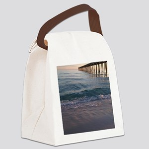 Pensacola Pier Canvas Lunch Bag