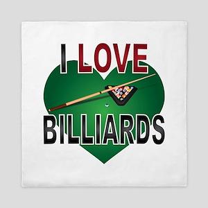 Love Billiards Queen Duvet