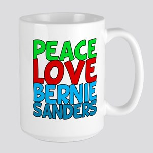Bernie Sanders Love Large Mug