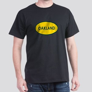 Oakland Yellow Oval T-Shirt
