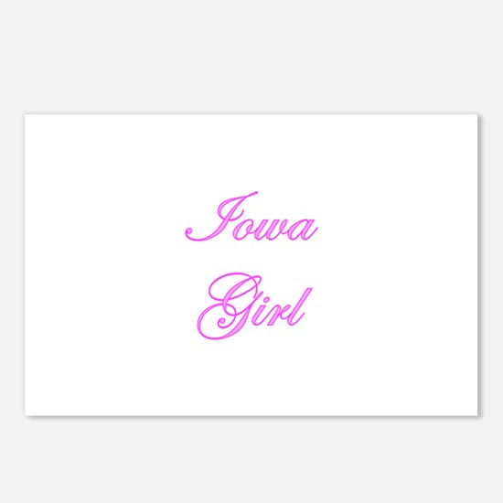 Iowa Girl Postcards (Package of 8)