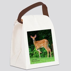 Victor's Fawn Canvas Lunch Bag