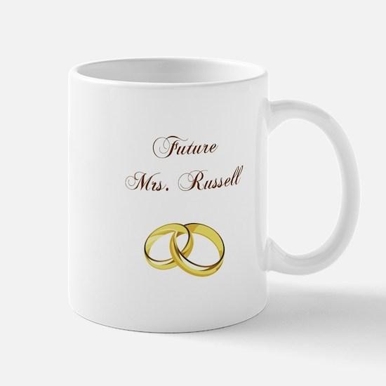 FUTURE MRS. RUSSELL Mugs