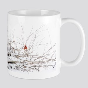 Peek a Boo Cardinal Mug