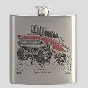 CLASSIC RODDER Series #2, 1957 Flask
