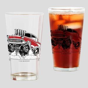 CLASSIC RODDER Series #2, 1957 Drinking Glass