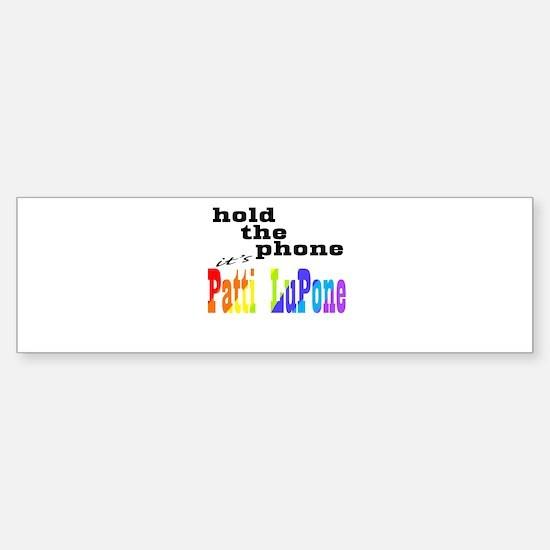 Phone - Lupone Bumper Bumper Bumper Sticker