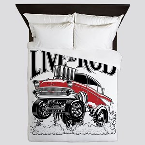 LIVE TO ROD 1957 Gasser Queen Duvet