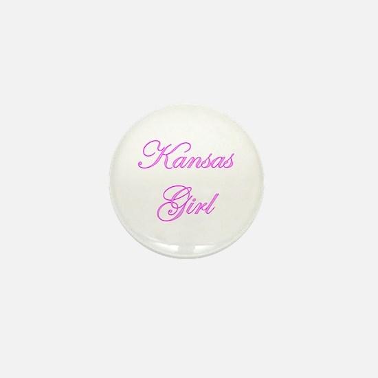 Kansas Girl Mini Button