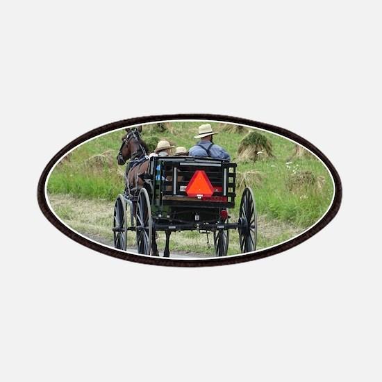 Amish Wagon Patch