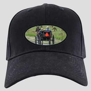 Amish Wagon Black Cap