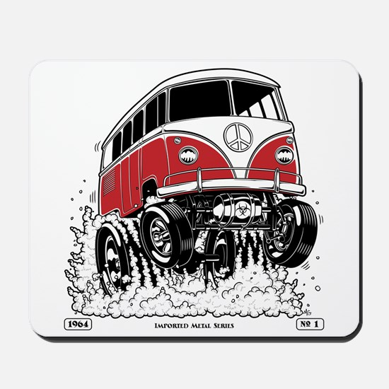 IMPORTED METAL Series #1, 1964 Mousepad