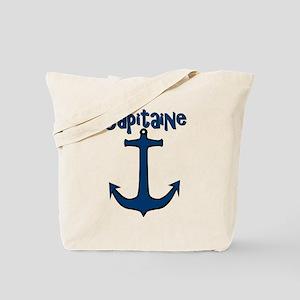 Capitaine ancre de bateau Tote Bag