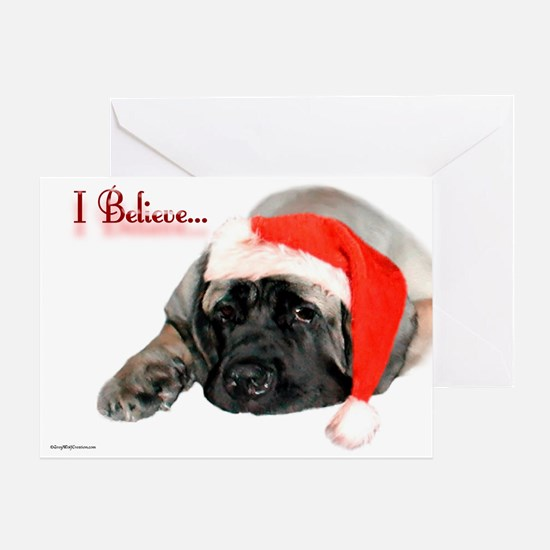 I Believe fawn Greeting Card