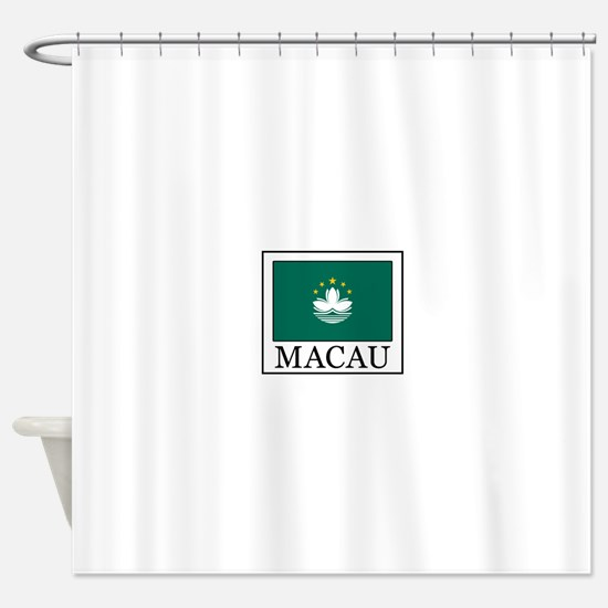 Macau Shower Curtain