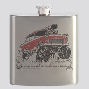 LIVE TO ROD 1955 Gasser Flask