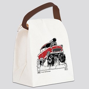LIVE TO ROD 1955 Gasser Canvas Lunch Bag