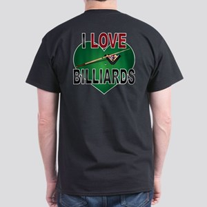 Love Billiards Dark T-Shirt