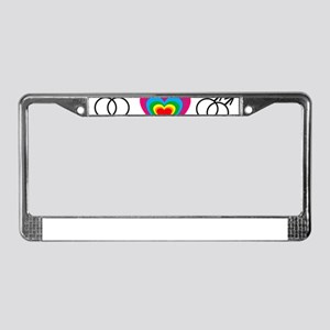 gay marriage License Plate Frame