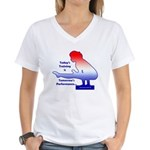 Gymnastics V-Neck T-Shirt - Training