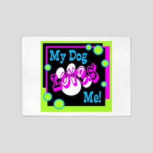 My Dog 5'x7'Area Rug