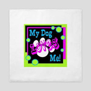 My Dog Queen Duvet