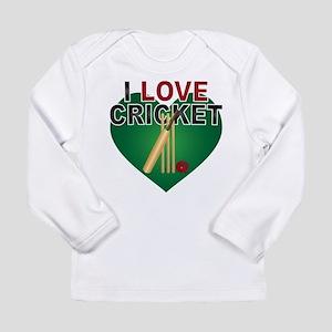 Love Cricket Long Sleeve Infant T-Shirt
