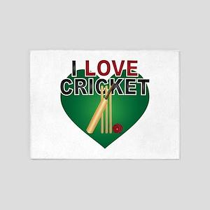 Love Cricket 5'x7'Area Rug