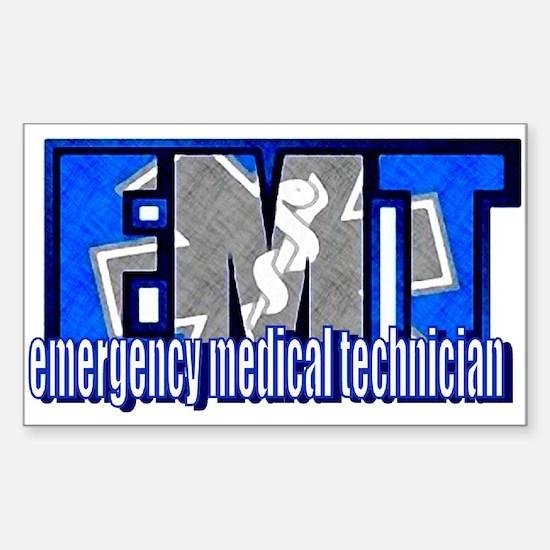 EMT Logo Rectangle Decal