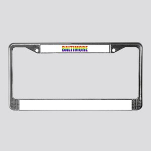 Baltimore Pride License Plate Frame