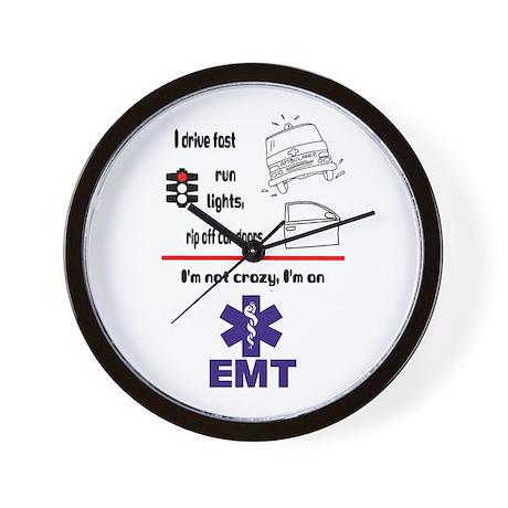 Not Crazy EMT Wall Clock