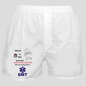 Not Crazy EMT Boxer Shorts