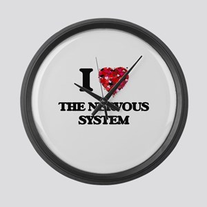 I love The Nervous System Large Wall Clock