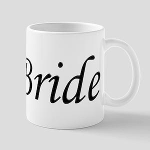 Wedding Bride Script Mugs
