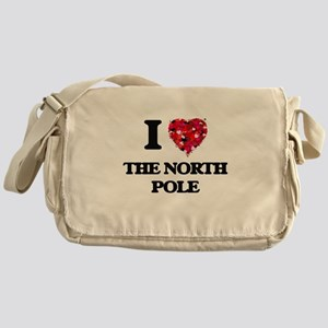 I love The North Pole Messenger Bag