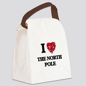 I love The North Pole Canvas Lunch Bag