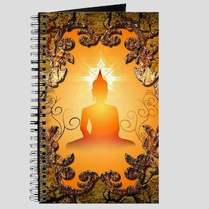 Buddha in the sunset Journal
