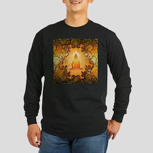 Buddha in the sunset Long Sleeve T-Shirt
