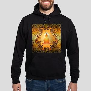 Buddha in the sunset Hoodie