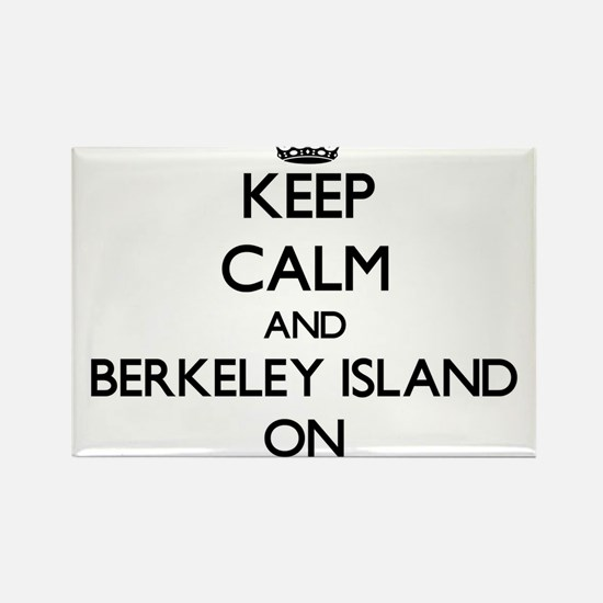 Keep calm and Berkeley Island New Jersey O Magnets