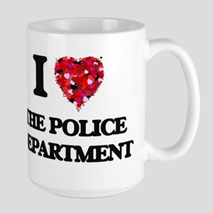 I love The Police Department Mugs