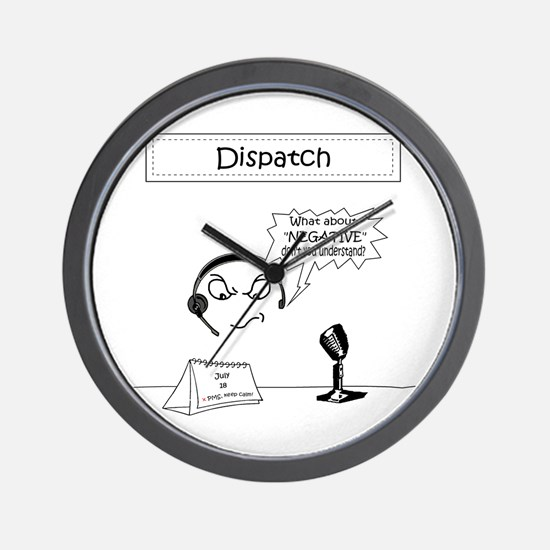 Cute Emergency dispatcher Wall Clock