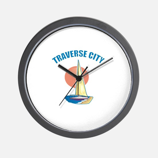 Traverse City Wall Clock