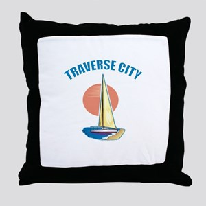 Traverse City Throw Pillow