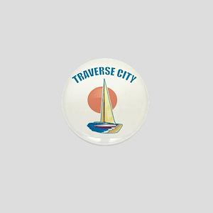 Traverse City Mini Button