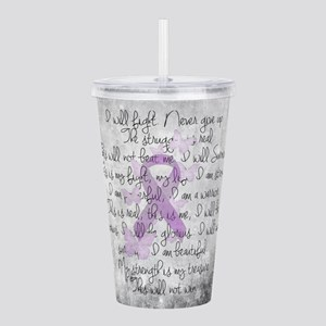 The Fight Acrylic Double-wall Tumbler